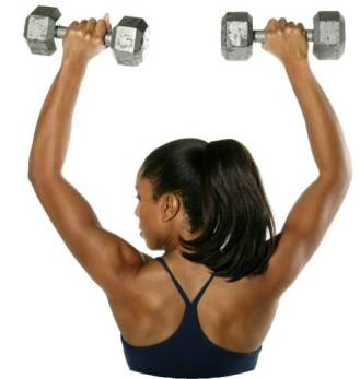black woman exercise