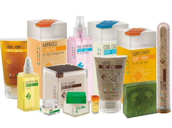 green cosmetic products