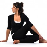 sitting spinal twist