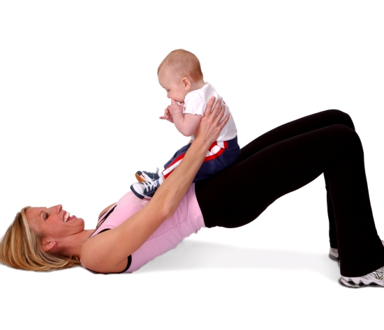 exercises for Mommy and baby to do together